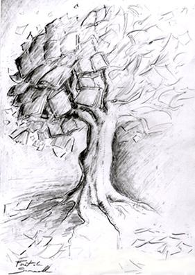Portfolio de samuelle ducrocq henry - Arbre dessiner ...